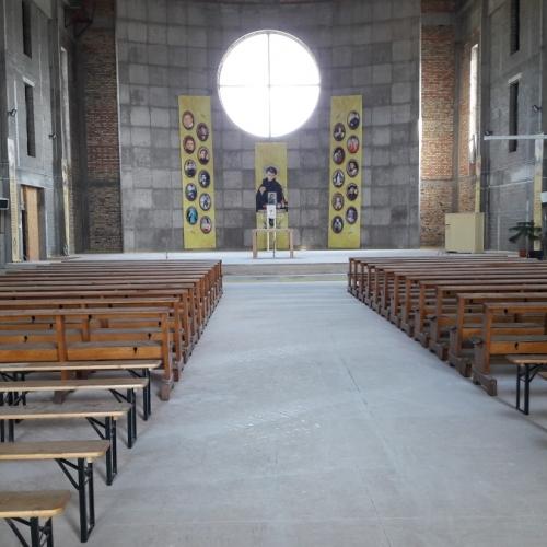 Kościół w budowie, Warszawa, ul. Ostródzka